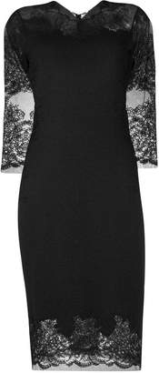 Ermanno Scervino lace midi dress