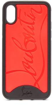 Christian Louboutin - Loubiphone Rubber Iphone® X Case - Mens - Black Red