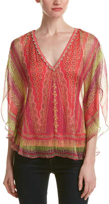 Hale Bob Sheer Silk Tunic