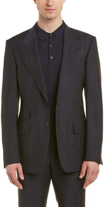 Tom Ford O'connor 2Pc Wool, Mohair, & Silk-Blend Suit With Flat Pant