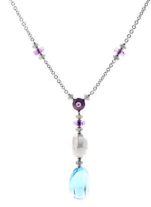 Bulgari Mediterranean Eden 18K Diamond & Gemstone Necklace