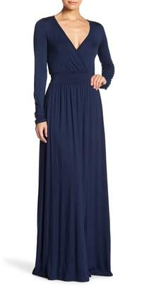 Couture Go Long Sleeve Maxi Dress