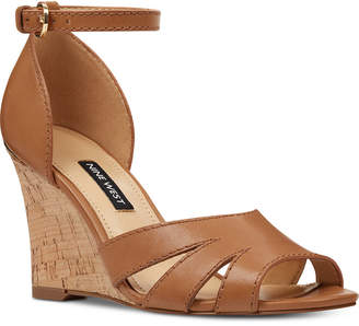 Nine West Lilly Wedge Sandals Women Shoes