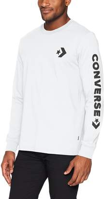 3f90daa559cc at Amazon Canada · Converse Men s Star Chevron Wordmark Long Sleeve T-Shirt