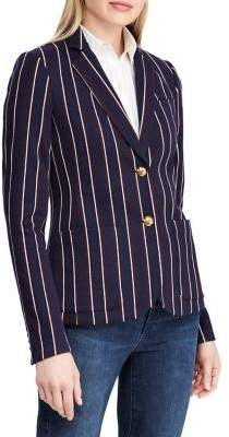 Lauren Ralph Lauren Petite Striped Jacquard Blazer