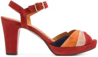 Chie Mihara colour-block ankle strap sandals