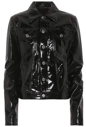 Helmut Lang Faux leather jacket