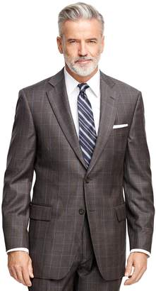 Brooks Brothers Madison Fit Plaid with Deco 1818 Suit