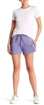 Harlowe & Graham Drawstring Gauze Shorts