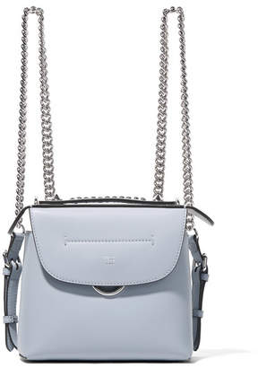 Fendi - Back To School Mini Leather Backpack - Gray $1,680 thestylecure.com