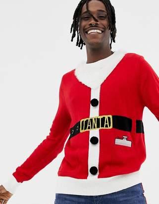 Brave Soul Holidays Santa Sweater