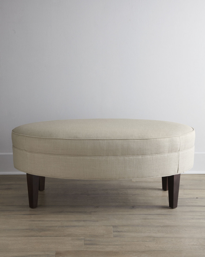 """Horchow SOUTHERN FURNITURE-UPHOLESTRY """"Dylan"""" Ottoman"""