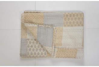 Lr Resources Inc. Kantha Throw Blanket