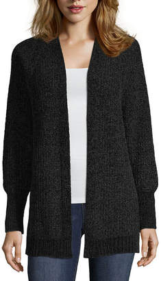 Arizona Brooklyn - Top Pick Long Sleeve Cardigan - Juniors