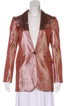Gucci 2014 Metallic Blazer