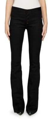 Saint Laurent Patch Pocket Flare Jeans