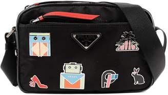 Prada Badge Shoulder Bag