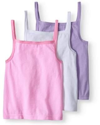 Garanimals Toddler Girls' Cami Layering Tanks, 3-Pack
