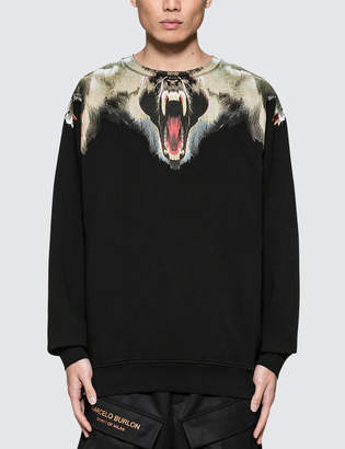 Marcelo Burlon County of Milan Monkeys Crewneck