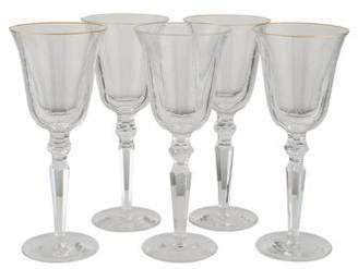 Waterford Set of 5 Charlemont Water Goblets