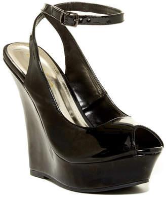 LILIANA Honfleur Peep Toe Platform Wedge $32.99 thestylecure.com