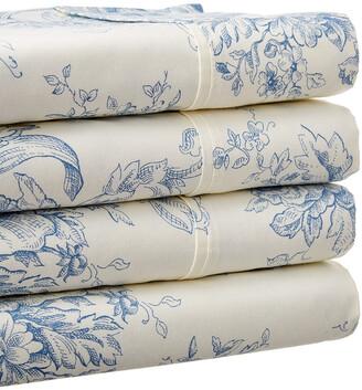 Melange Home Toile Sheet Set