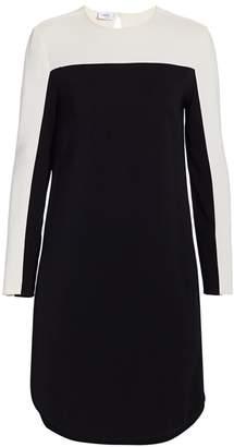 Akris Punto Striped Sleeve Tunic Dress