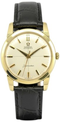 Omega Seamaster Cal.552 Gold Plated Automatic 34mm Mens Watch $659 thestylecure.com