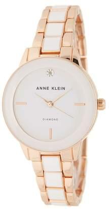 Anne Klein Women's Diamond Bracelet Watch, 32mm - 0.05 ctw