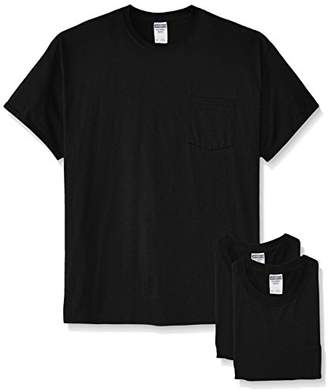 9be2ac752066 Jerzees Men s White Adult Short-Sleeve Pocket T-Shirts (3-Pack)