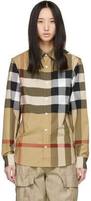 Burberry Beige Windsor Shirt