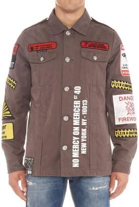 Philipp Plein 'warning' Jacket