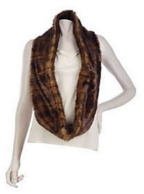 Faux Fur Infinity Scarf by VT Luxe