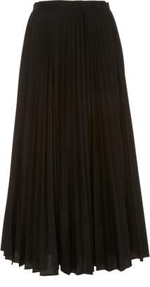 Claudia Li Pleated Accordion Skirt