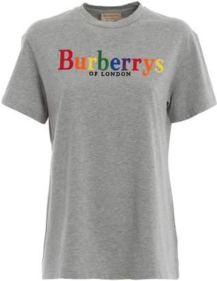 Burberry Rainbow Logo T-shirt