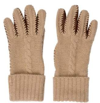Portolano Leather & Cashmere Gloves