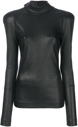panelled blouse