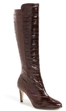 J. Renee 'Solvay' Eel Skin Boot