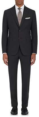 Boglioli Men's Virgin Wool Plain-Weave Two-Button Suit