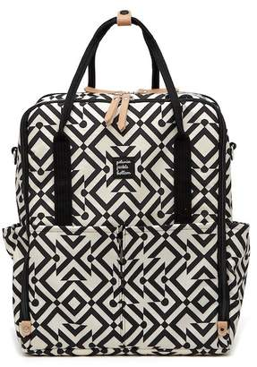 Petunia Pickle Bottom Intermix Backpack - Mazes of Milano Diaper Bag