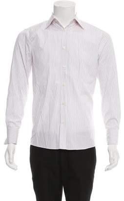 HUGO BOSS Hugo by Striped French Cuff Shirt