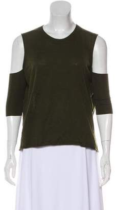 Michelle Mason Cold-Shoulder Knit Top w/ Tags