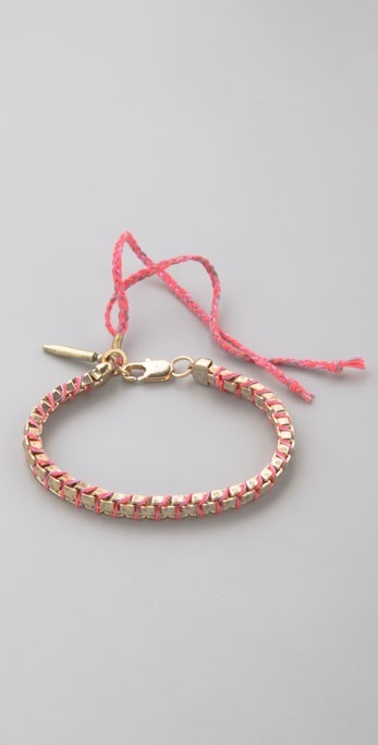 Lizzie Fortunato Jewels Small Fortune On the Road Bracelet