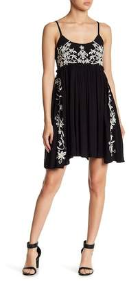 Band of Gypsies Embroidered Babydoll Dress
