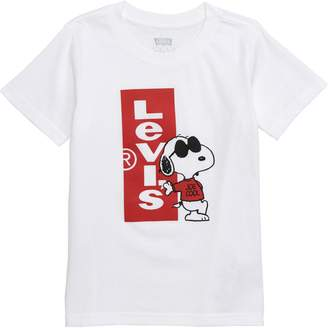 Levi's x Peanuts Snoopy Joe Cool Graphic T-Shirt