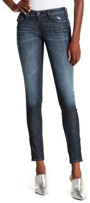 Diesel Skinzee Hem Zip Jeans