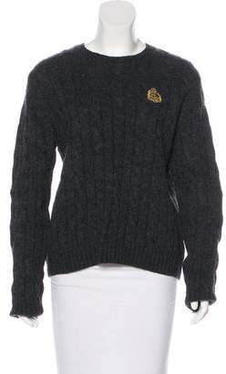 Lauren Ralph Lauren Cable Knit Wool Sweater