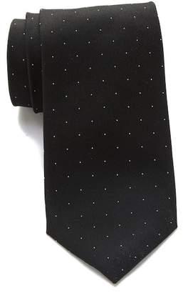 Calvin Klein Botanic Dot Silk Tie