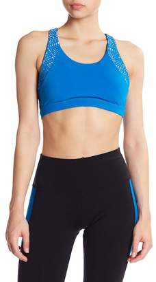 Alo Patina Laser Cut Sports Bra