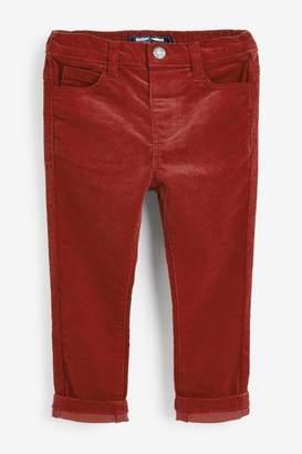 Next Boys Rust Cord Trousers (3mths-7yrs) - Brown